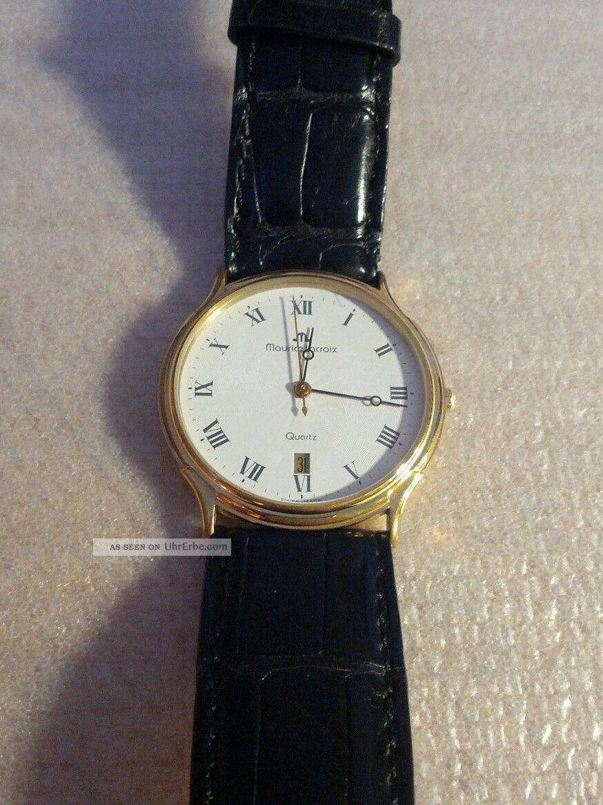 Maurice Lacroix Herrenuhr Funktioniert (92378) Armbanduhren Bild