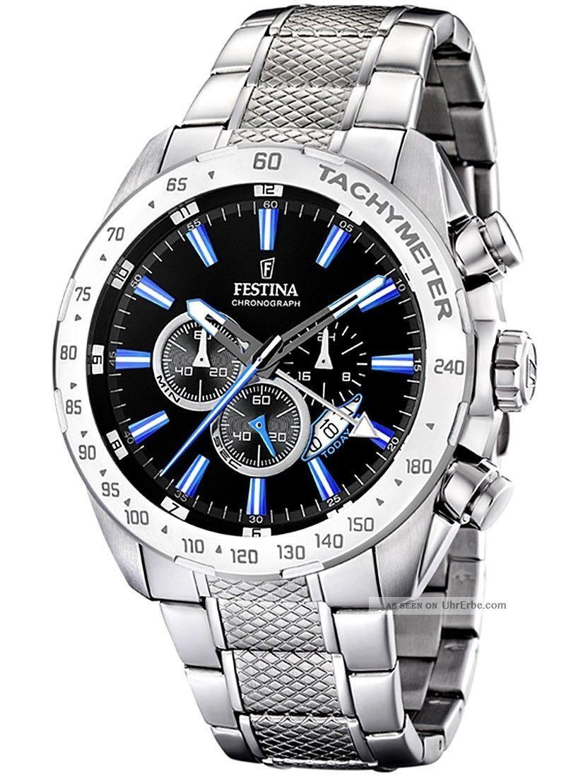 Festina F16488/3 Herren - Chronograph Armbanduhren Bild