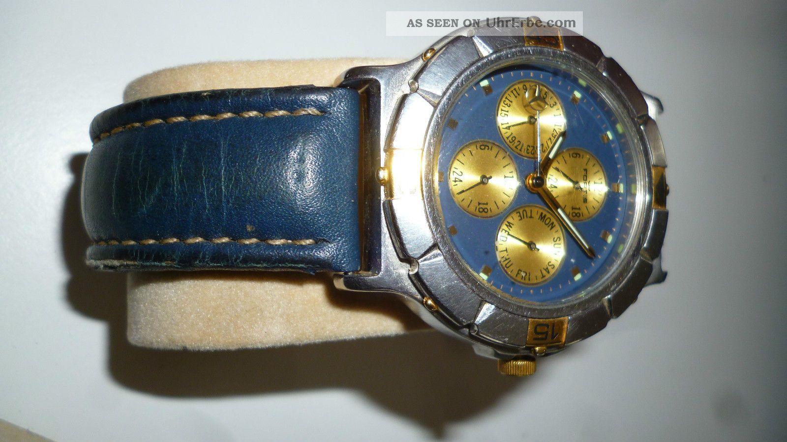 Fortis,  Ref.  - Nr.  541.  16.  129,  Chrono,  Edition Mercedes Benz Armbanduhren Bild