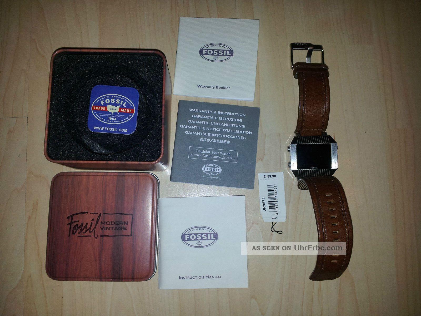 Fossil Herren Uhr Armbanduhren Bild