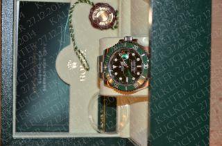 Rolex Oyster Perpetual Submariner Date Armbanduhr Für Herren (116610lv) Bild