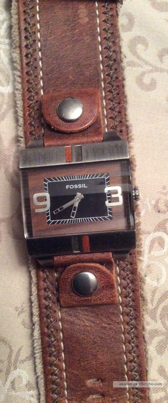 Fossil - Herren - Uhr - Wechselarmband Armbanduhren Bild