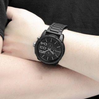 Diesel Herren - Armbanduhr Xl Franchise - 51 Chronograph Quarz Edelstahl Dz4207 Bild