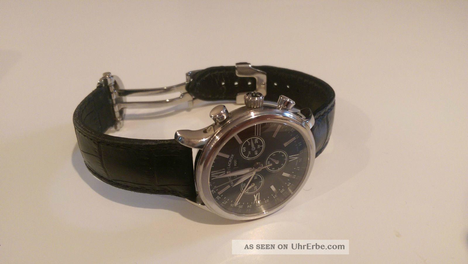 Maurice Lacroix Les Classique Chronograph Lc - 1098 Armbanduhren Bild