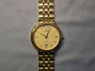 Centia Swiss Bg - 904 Armbanduhr Für Herren Vergoldet Bild