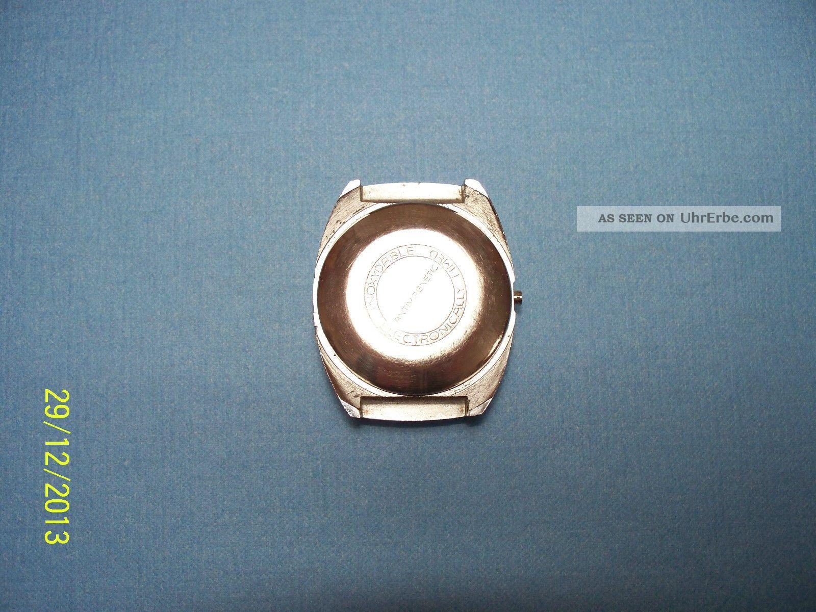 Uhr Armbanduhr Ddr Ruhla Digi 73 Armbanduhren Bild