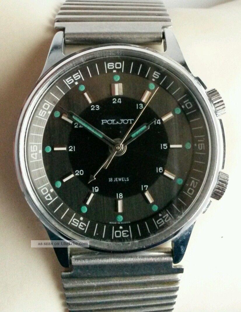 Poljot Armbanduhr Mit Wecker Armbanduhren Bild