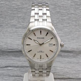 Herrenuhr Pulsar Ps9085x1 Herrenarmbanduhr Quartzuhr 10 Bar Wasserdicht Bild