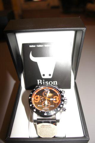 Ingersoll Bison No 32 Armbanduhr Für Herren (in1620bkor) Bild