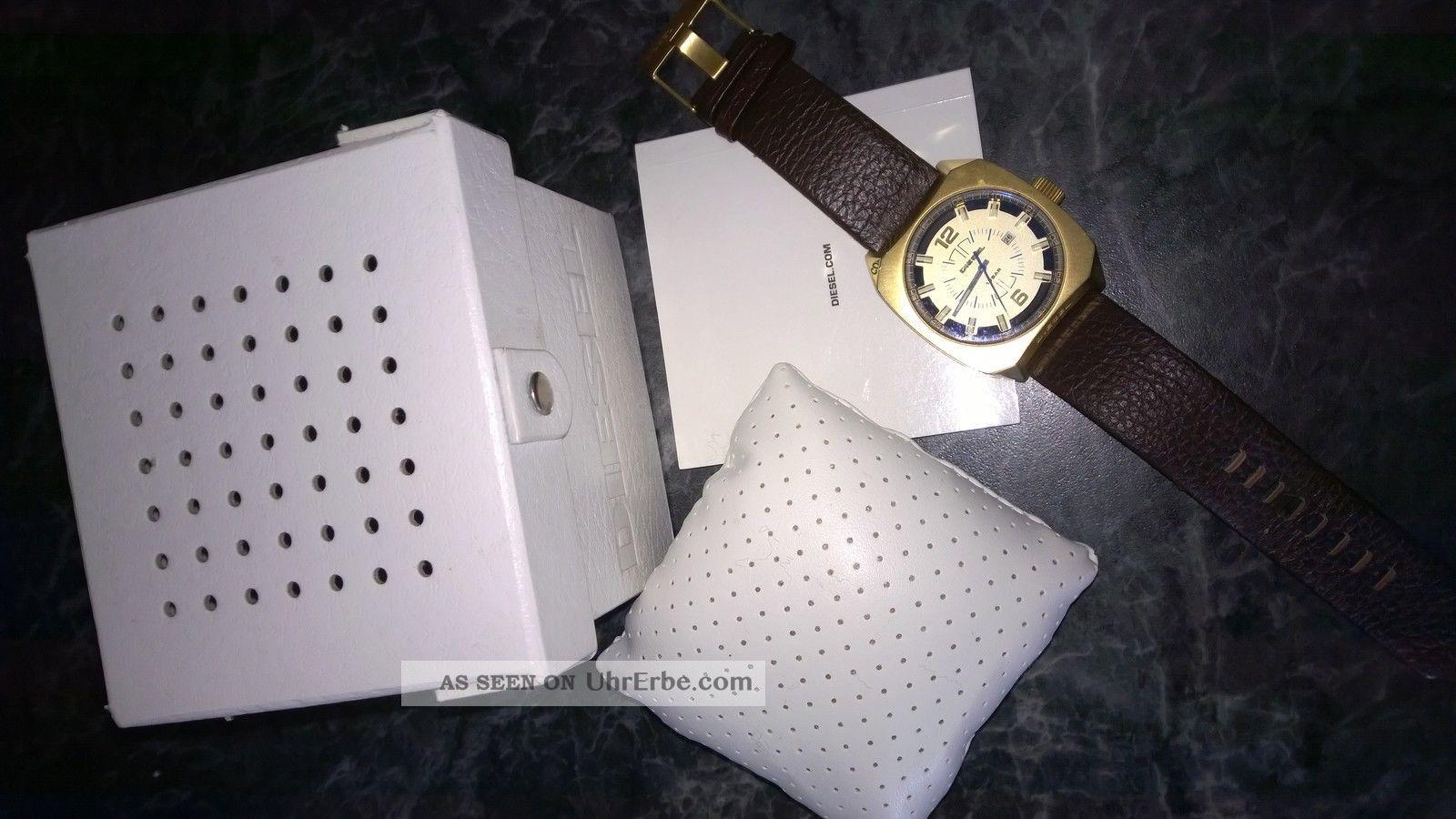Diesel Uhr Armbanduhr Herrenuhr Dz - 1300 2955 Armbanduhren Bild