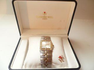 Raymond Weil Parsifal Ref.  9390 Herrenuhr Swiss Stahl/gold Box HÄndler 5799 Bild