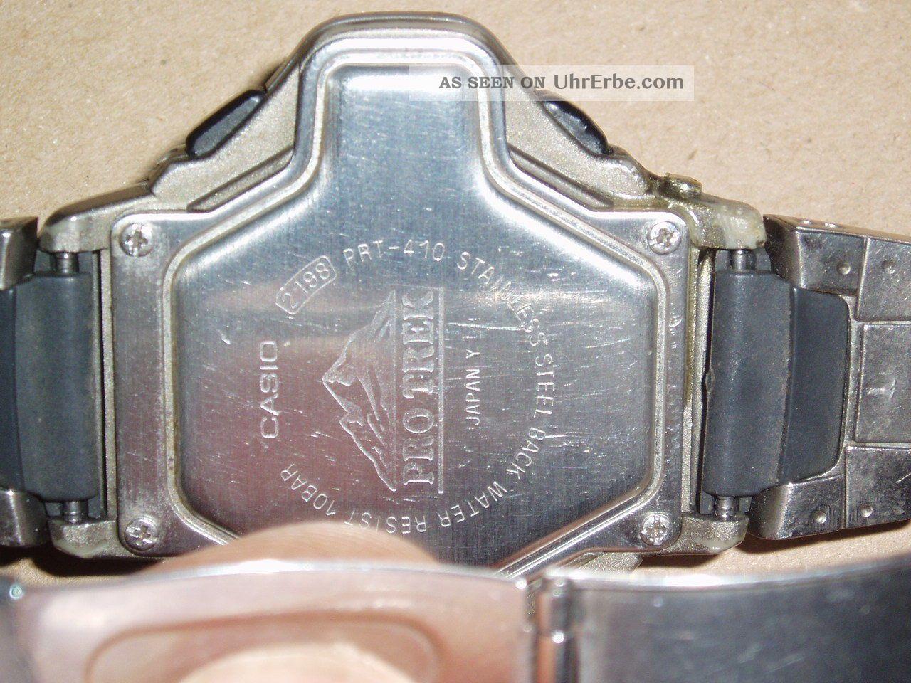 Casio Pro Trek Uhr Prt - 410 Armbanduhren Bild
