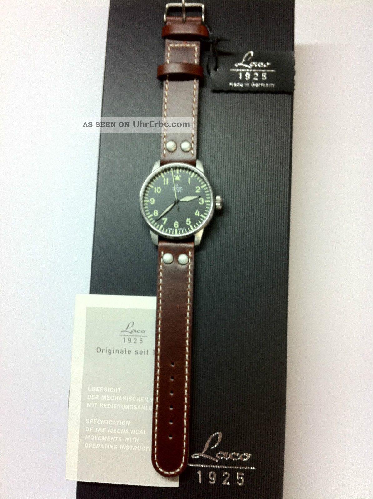 Laco Augsburg Automatik Herrenuhr 861688 Saphirglas Armbanduhren Bild