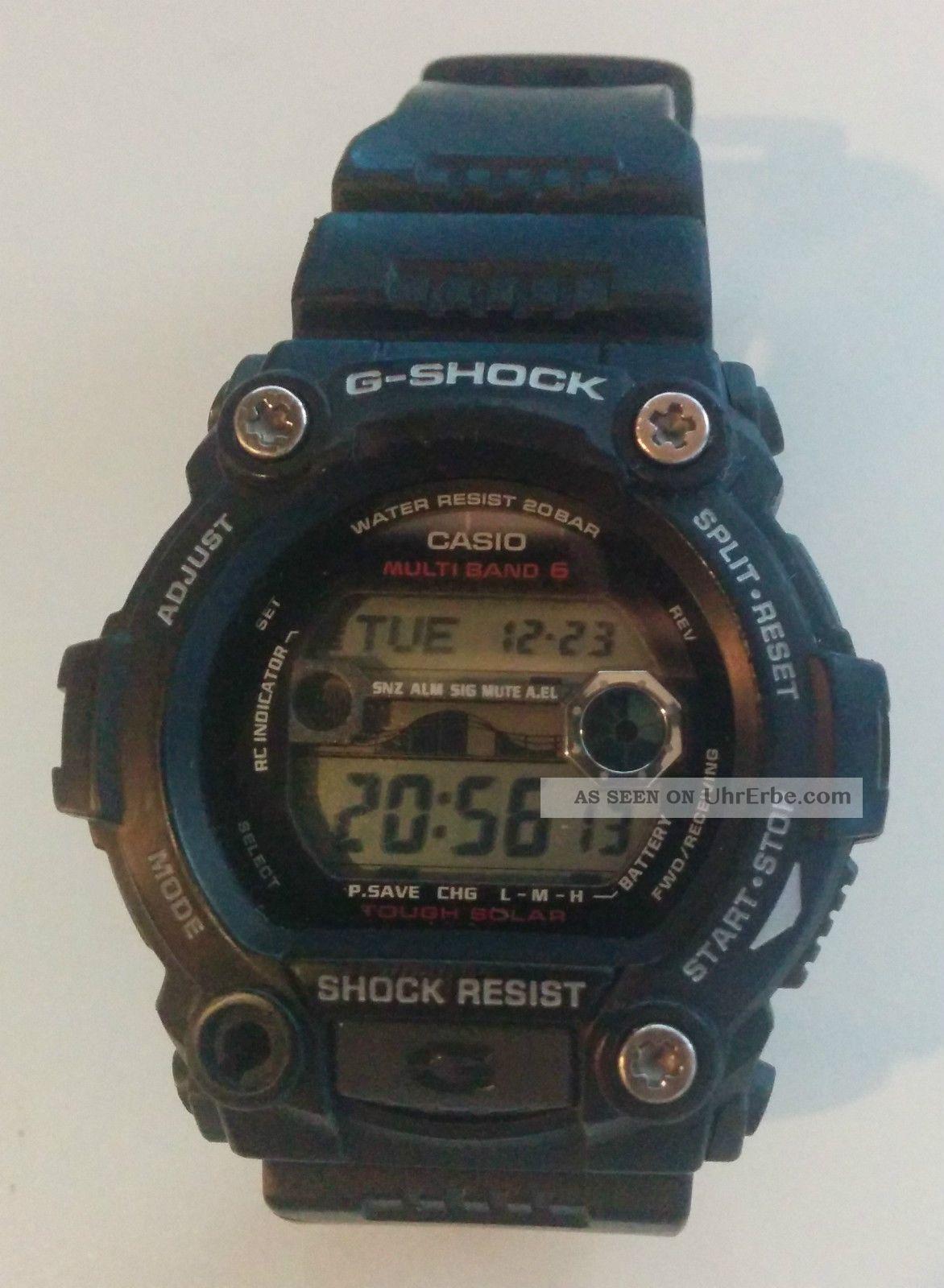 Casio G - Shock Gw - 7900 - 1er | Funk | Solar | Armbanduhr Für Herren Armbanduhren Bild