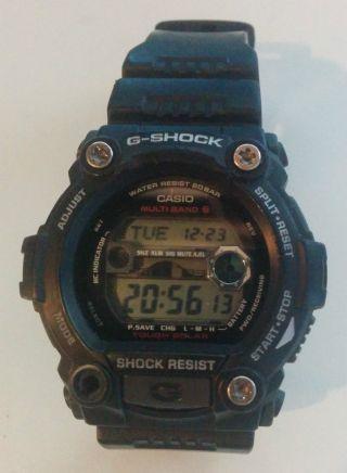 Casio G - Shock Gw - 7900 - 1er | Funk | Solar | Armbanduhr Für Herren Bild
