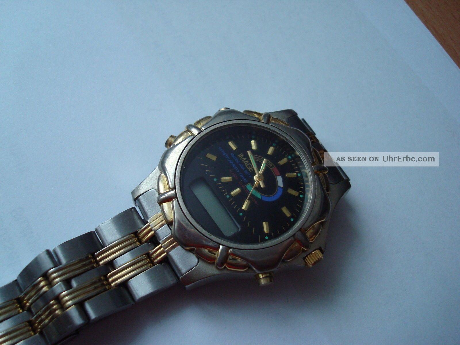 Sammlerstück Armbanduhr,  Analoge - Digitale Anzeige,  Quarz - Ansehen - Armbanduhren Bild