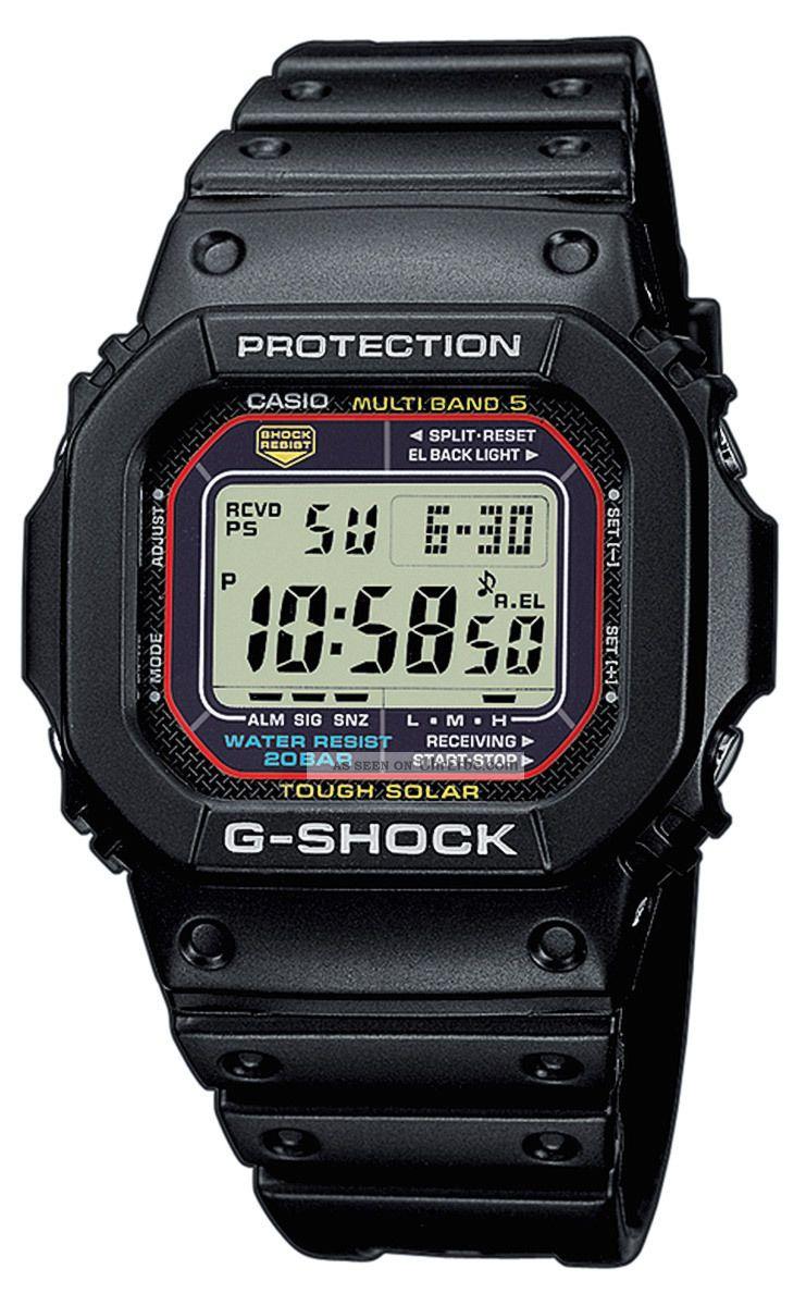 Casio Uhr G - Shock Solar - Funkuhr Gw - M5610 - 1er Armbanduhren Bild