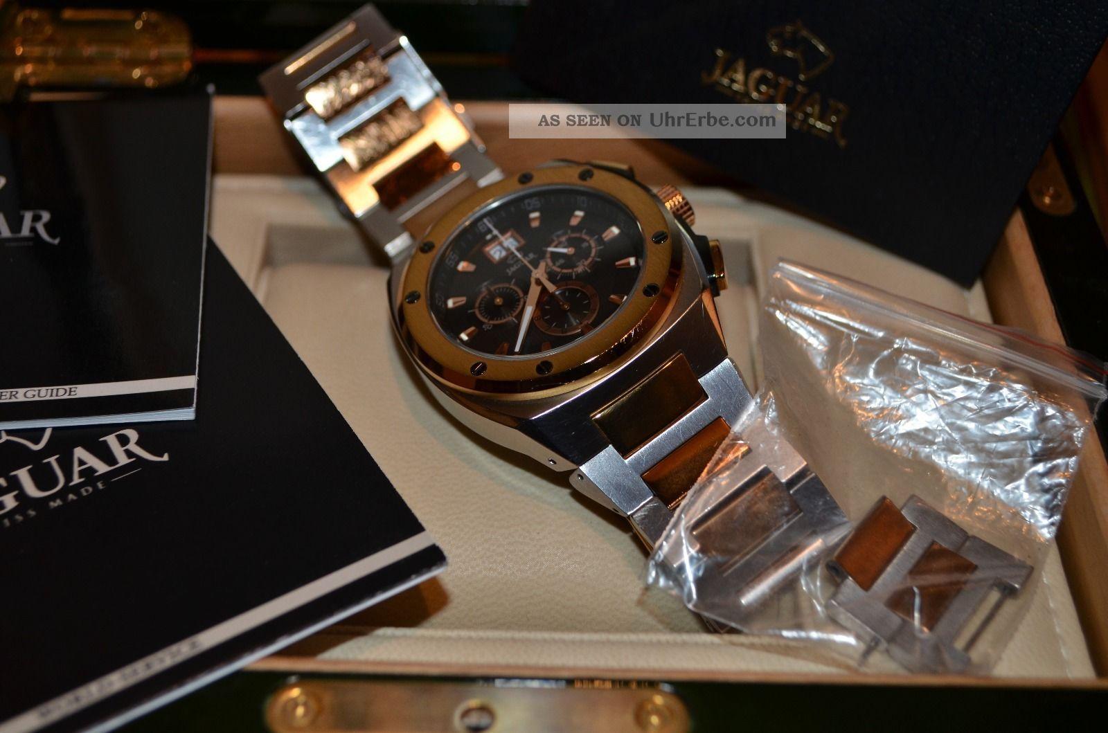 jaguar herren chronograph uhr armbanduhr j622 swiss made. Black Bedroom Furniture Sets. Home Design Ideas