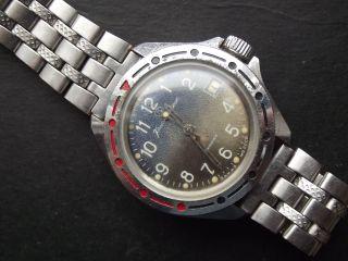 Armbanduhr Wostok Boctok Vostok Komandirskie Mechanisch Handaufzug Hau 5 Bild
