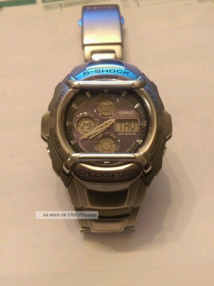 Casio - G - Shock - G - 511d - 2738 Chronograph / Armbanduhr - Guter - Armbanduhren Bild