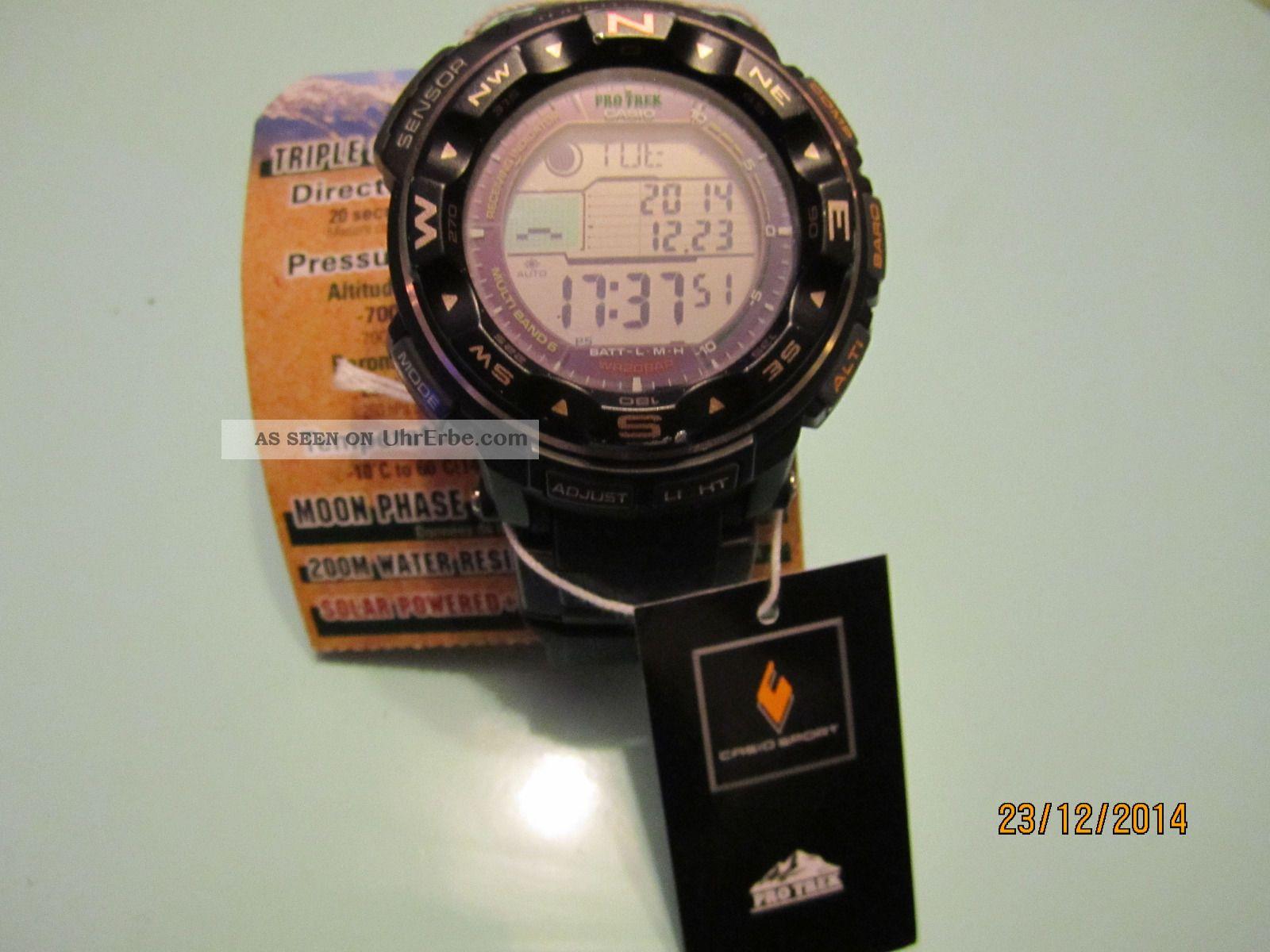 Casio Pro Trek Prw - 2500 - 1er (funk,  Solar) Armbanduhren Bild
