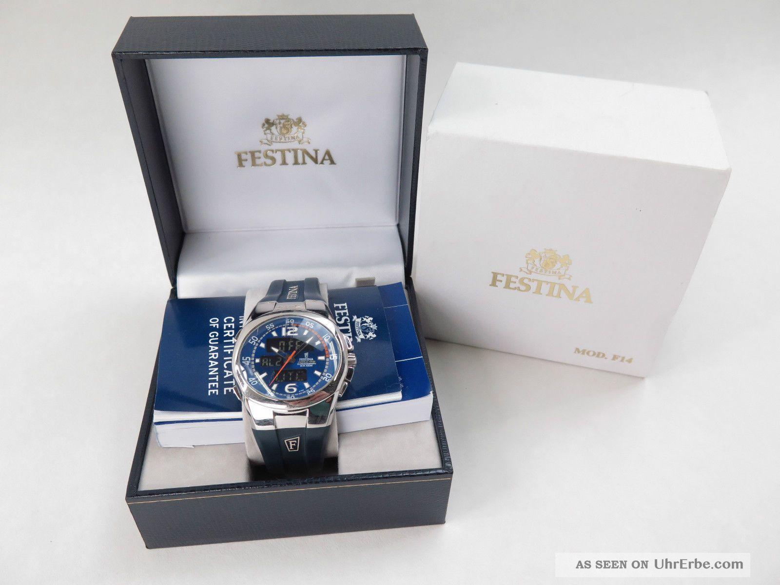 Festina Worldtime Chronograph - Armbanduhr Armbanduhren Bild