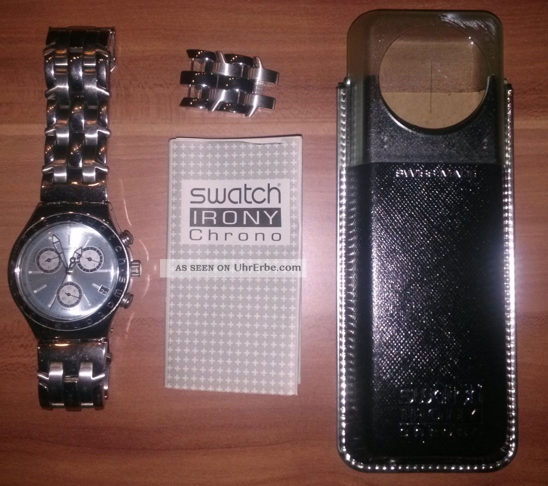 Swatch Irony Chrono (ycs4048ag) Unconsciousness Blau Armbanduhren Bild