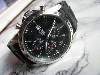 Pulsar Chronograph Herrenuhr Mit Stoppuhr Und Datumsanzeige Bild