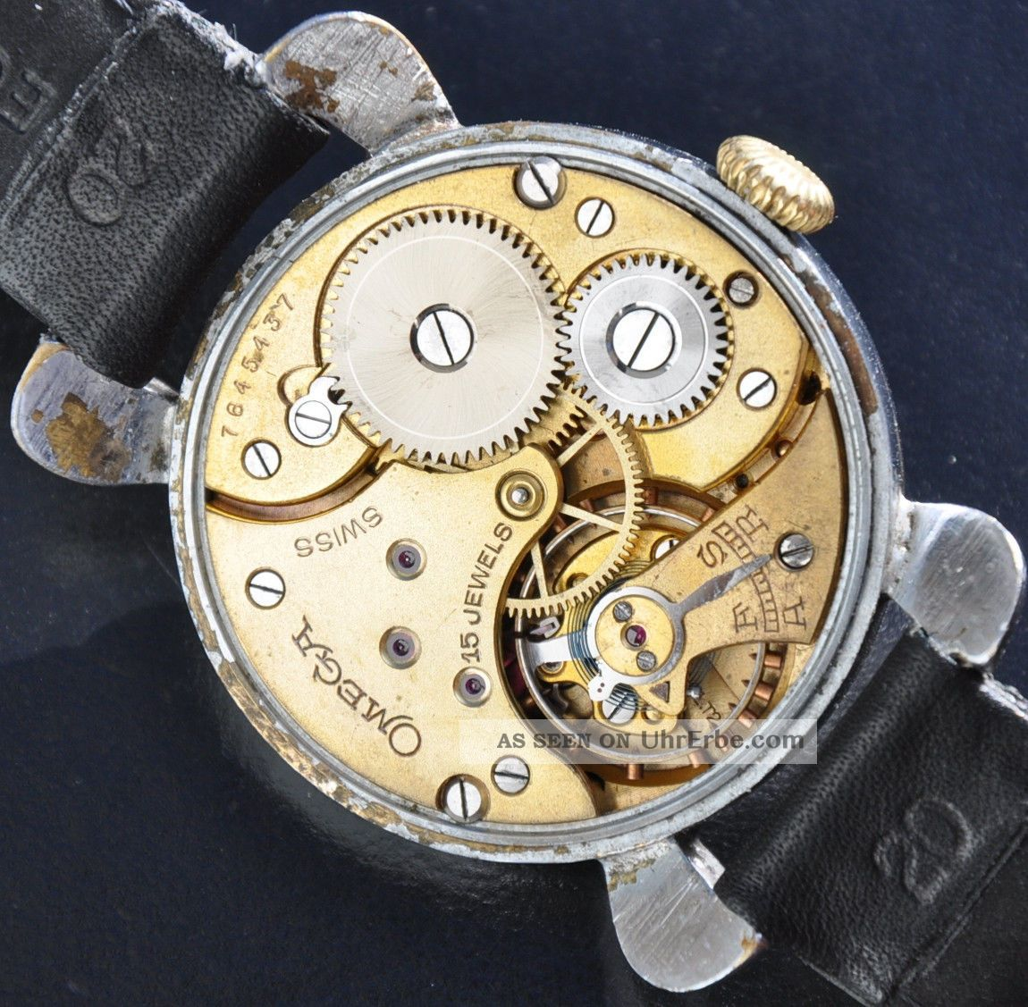 Vintage Omega Militäruhr Herrenuhr Armbanduhren Bild