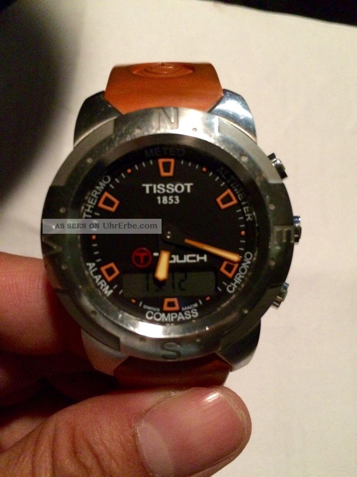 Tissot T - Touch Armbanduhren Bild