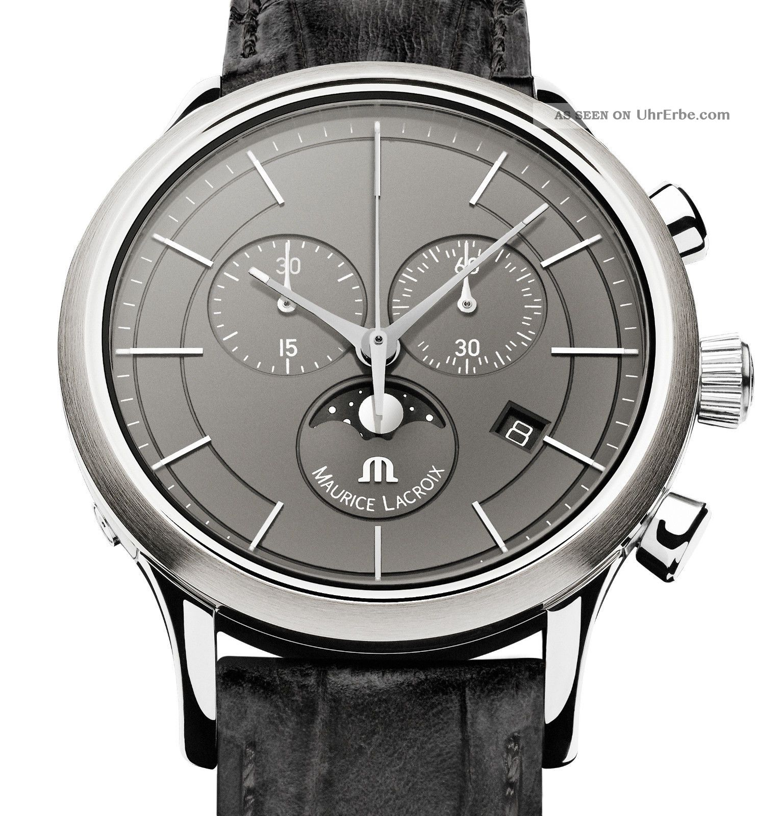 Maurice Lacroix Herrenuhr Mit Mondphase Classic Lc1148 Armbanduhren Bild