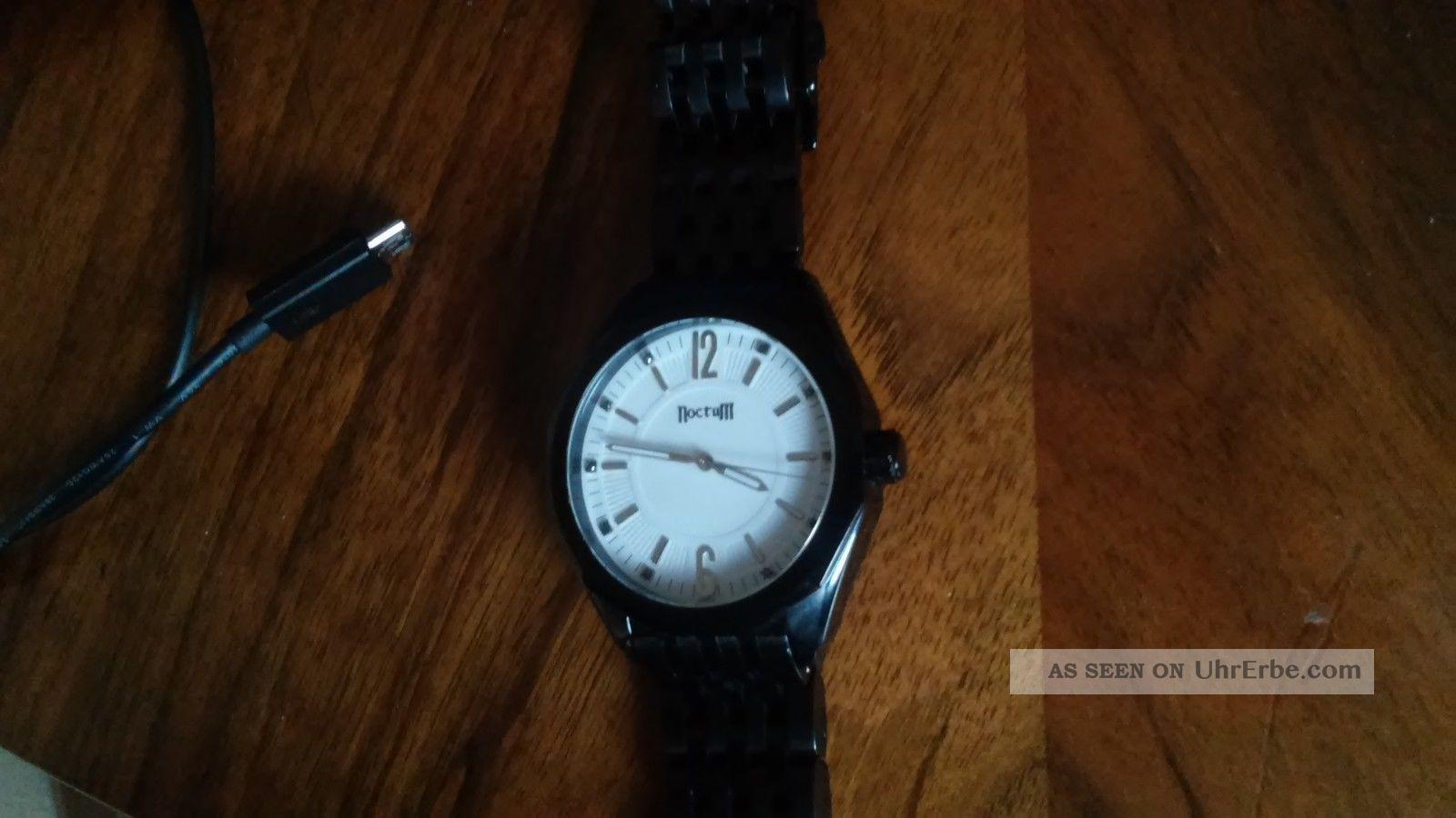 Schöne Elegante Herrenuhr Noctum Armbanduhren Bild