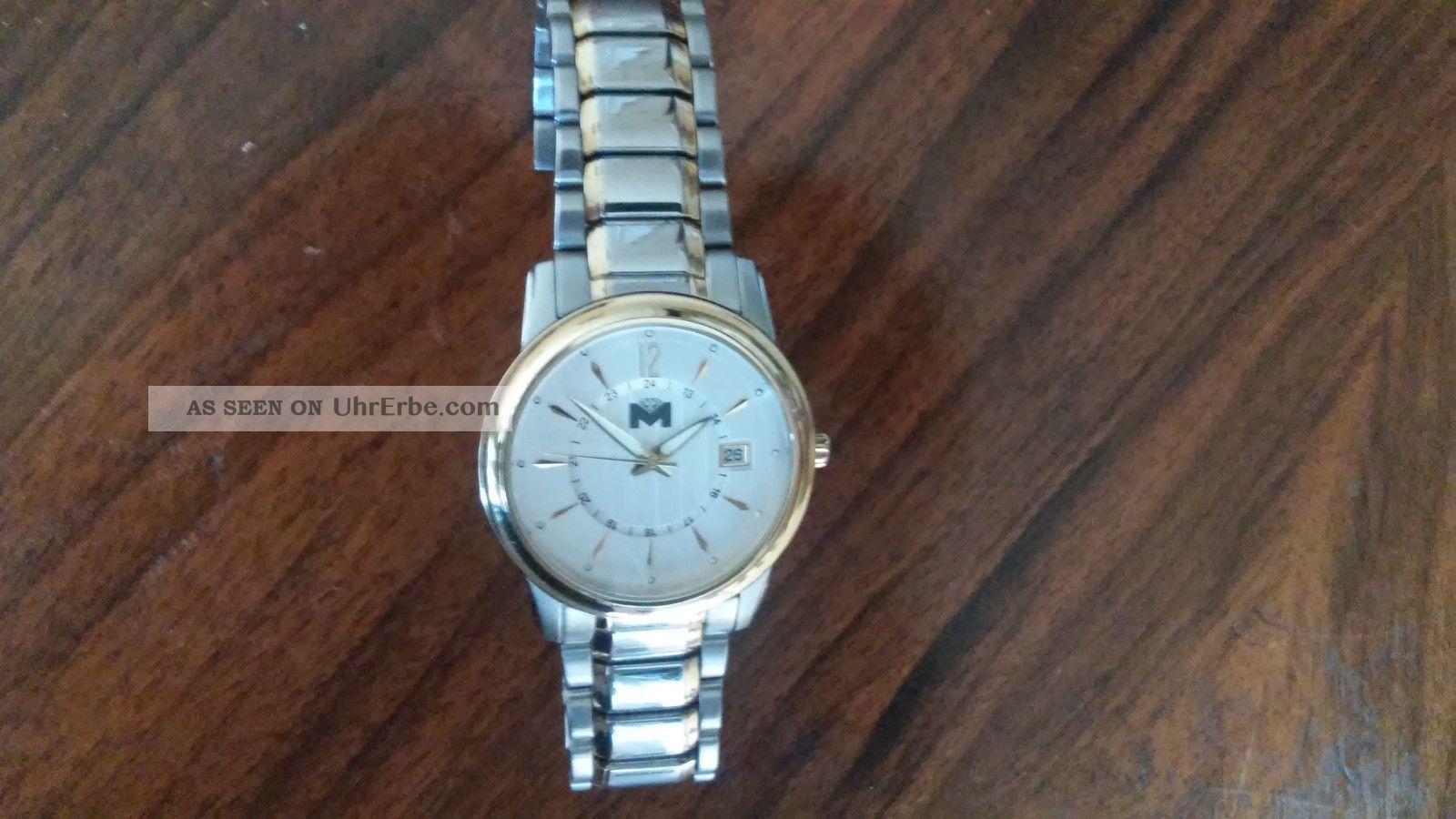 Schöne Elegante Herrenuhr Armbanduhren Bild