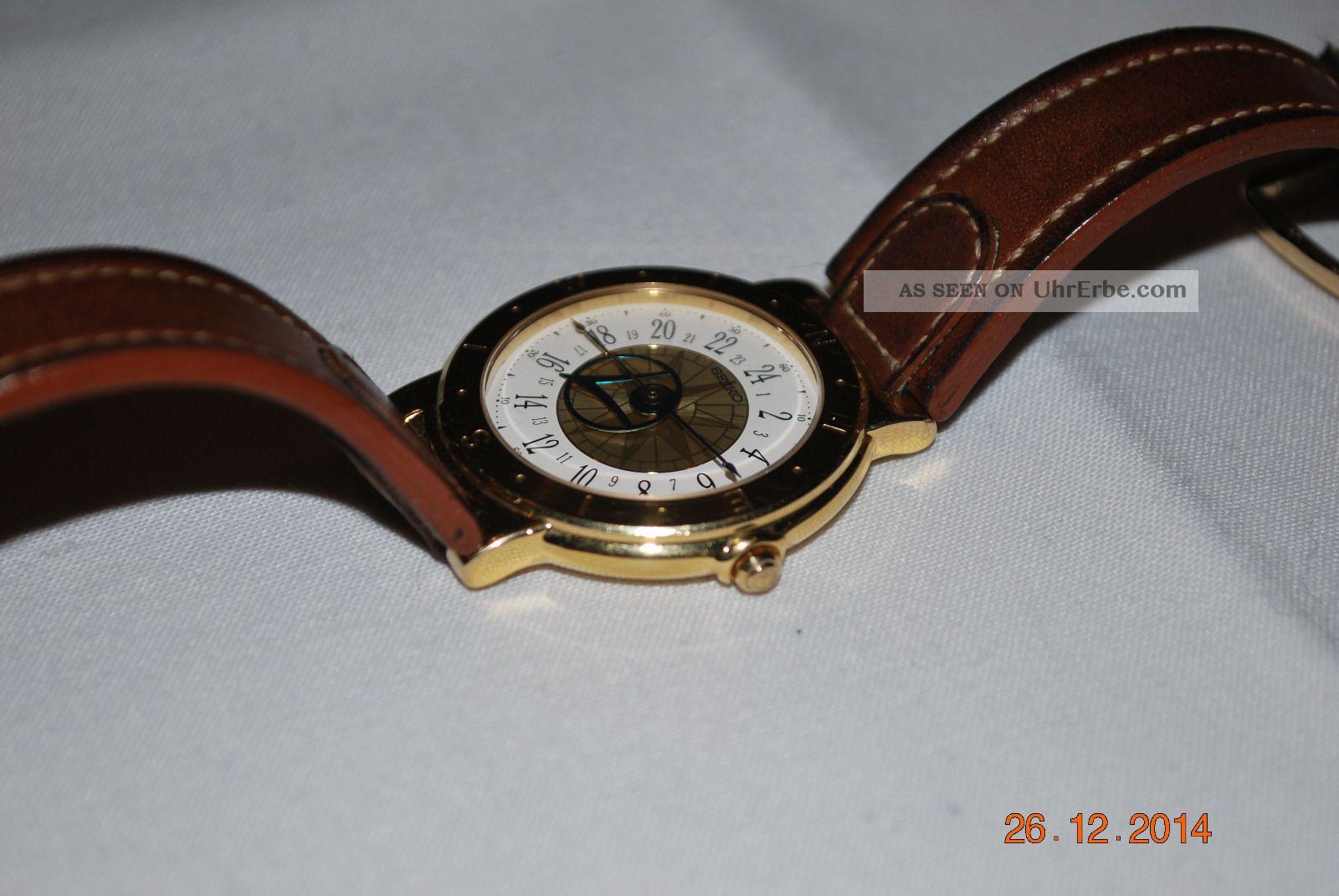 Seiko Windrose / Levante / 5y37 Armbanduhren Bild