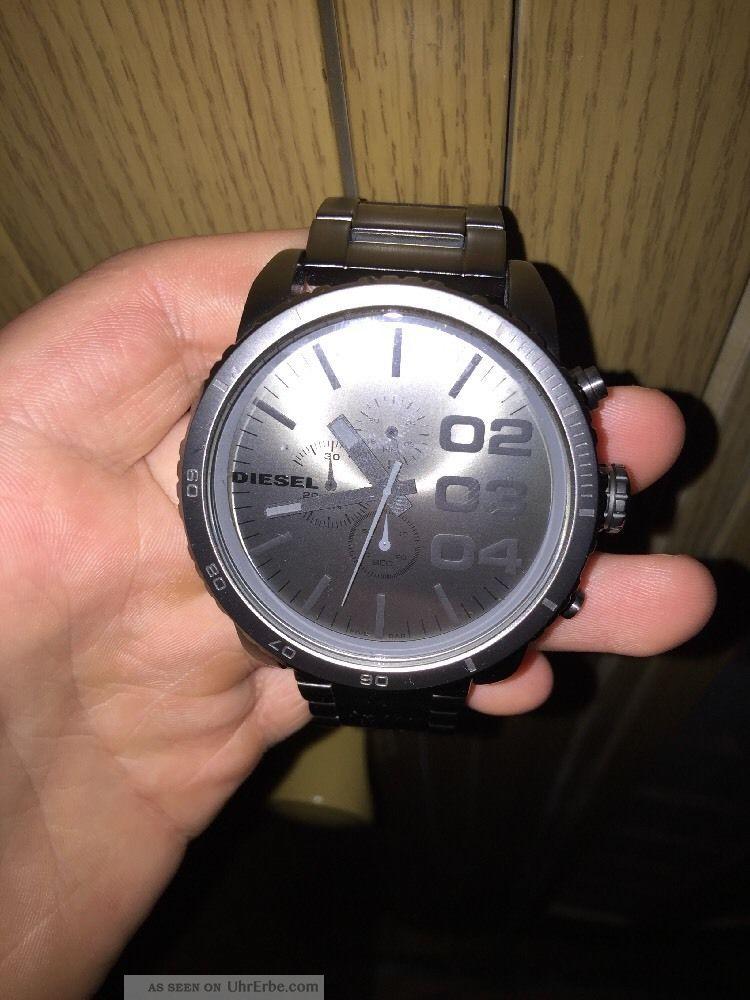 Diesel Uhr Dz4207 Chronograph Juwelier Ohne Etiket Armbanduhren Bild