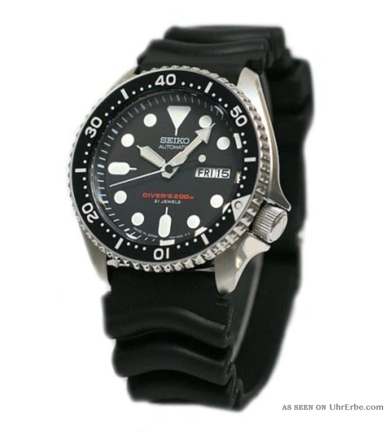 Seiko Automatik Diver ' S Skx007kc Armbanduhren Bild
