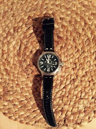 Tw Steel Uhr Chronograph Lederarmband Schwarz Bild