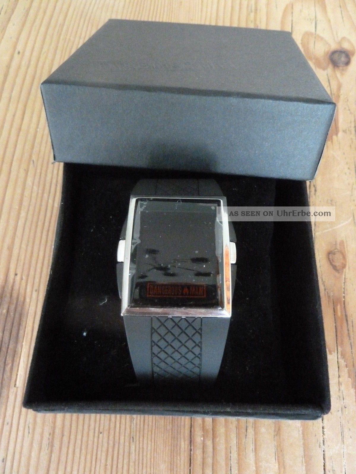Bruno Banani Dangerous Man Herrenuhr Armbanduhr - Led Anzeige Armbanduhren Bild