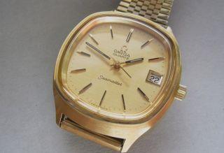 Omega Seamaster Armbanduhr Kaliber 1315 Quartz Herren Armbanduhr Bild