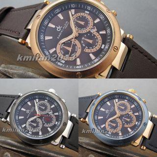 Daniel Klein Premium Uhr Metall Herrenuhr Datum Uhrwerk Japan Miyota Dk010131 - 6 Bild