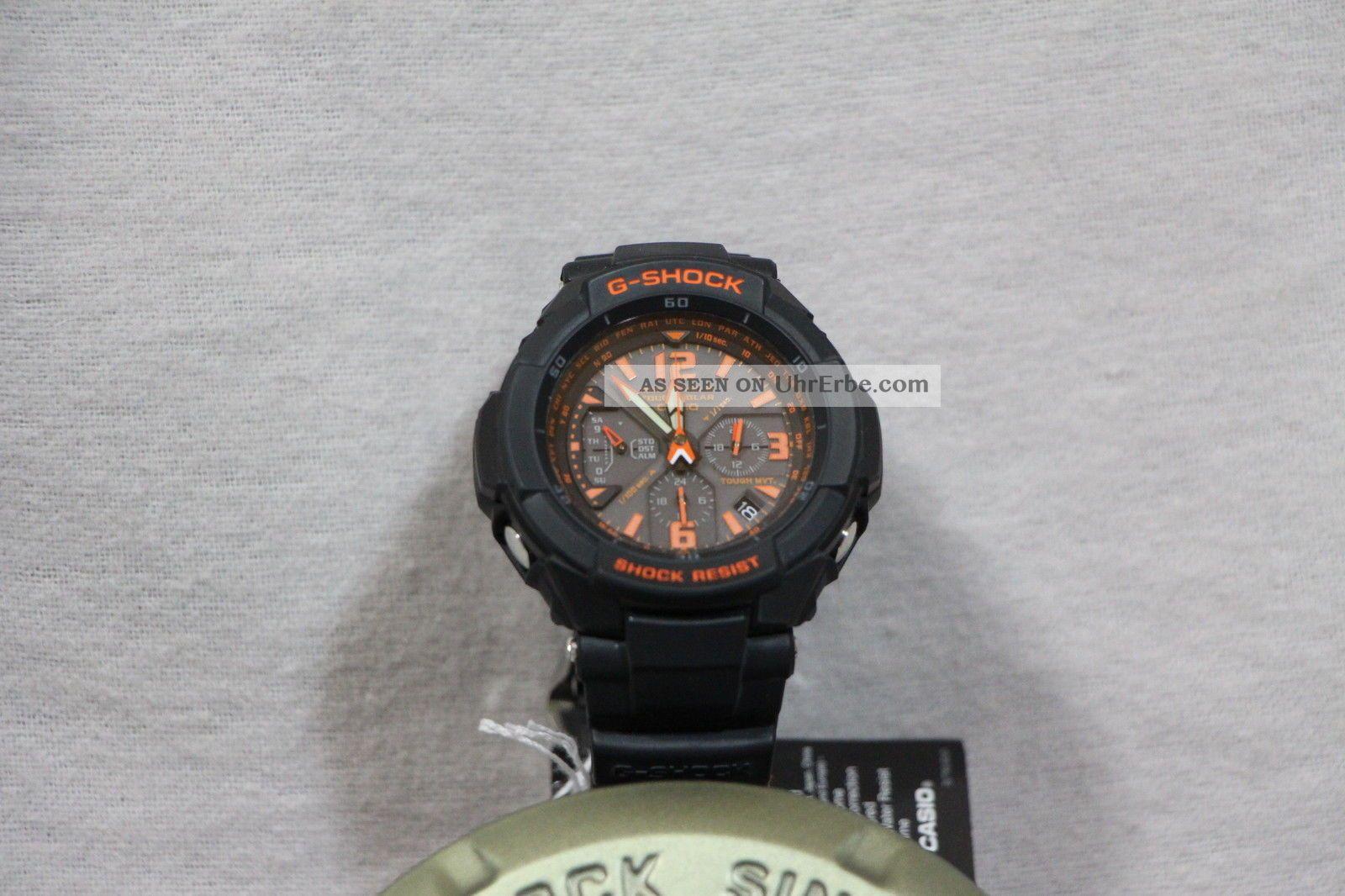 Casio Uhr Armbanduhr Herren Gw - 3000bd - 1aer G - Shock 200 Meter Wasserdicht Armbanduhren Bild