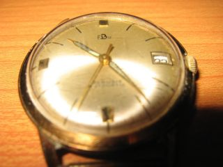 Fbu - Franz Burger - Alte Armbanduhr - 25 Rubine - Automatic Bild