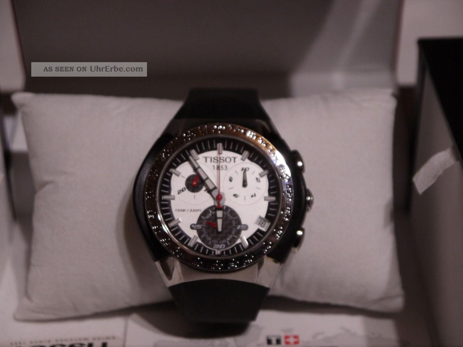 Tissot Couturier Chronograph Herrenuhr Mit Datum Armbanduhren Bild
