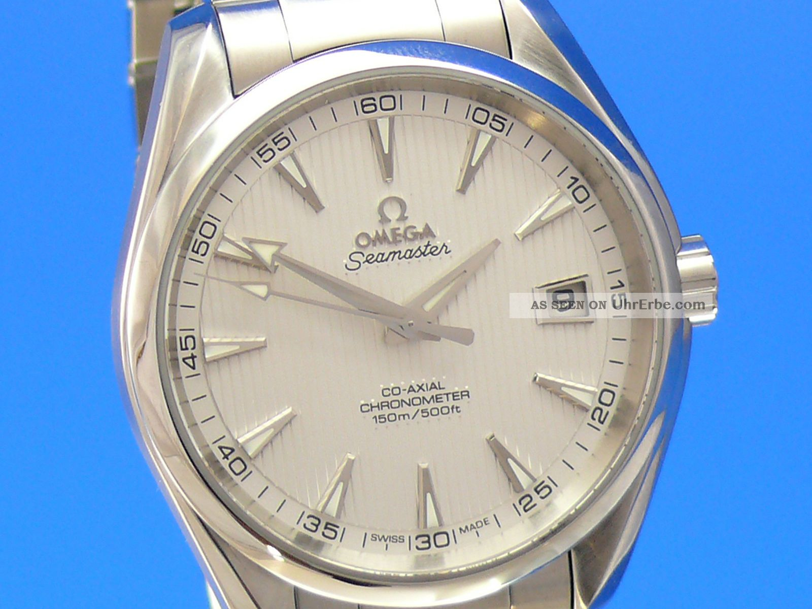 Omega Seamaster Aqua Terra Co - Axial 41.  5 Mm Auch Ankauf Von Luxusuhren Armbanduhren Bild