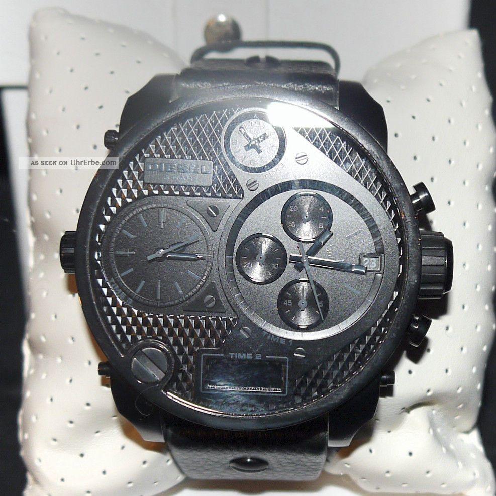 Armbanduhr Herren Diesel Dz7193 Chronograph,  Geschenkbox,  Booklet Statt 299,  - Armbanduhren Bild