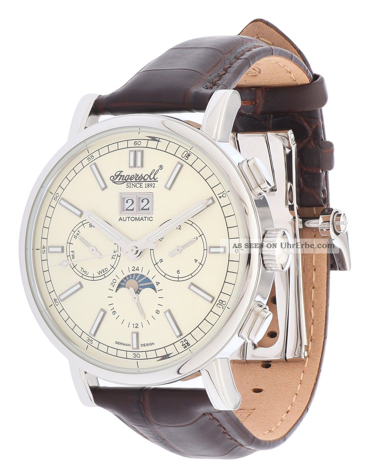 Ingersoll Herren Armbanduhr Anapolis Limited Edition Dunkelbraun In1402cr Armbanduhren Bild